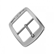 Men's Metal Belt Buckle For Business is shiny with metal texture