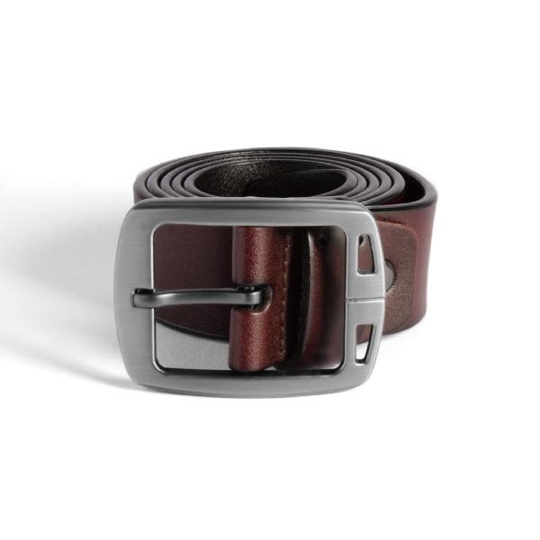 Men's Metal Belt Buckle For Business is matt nickel plated